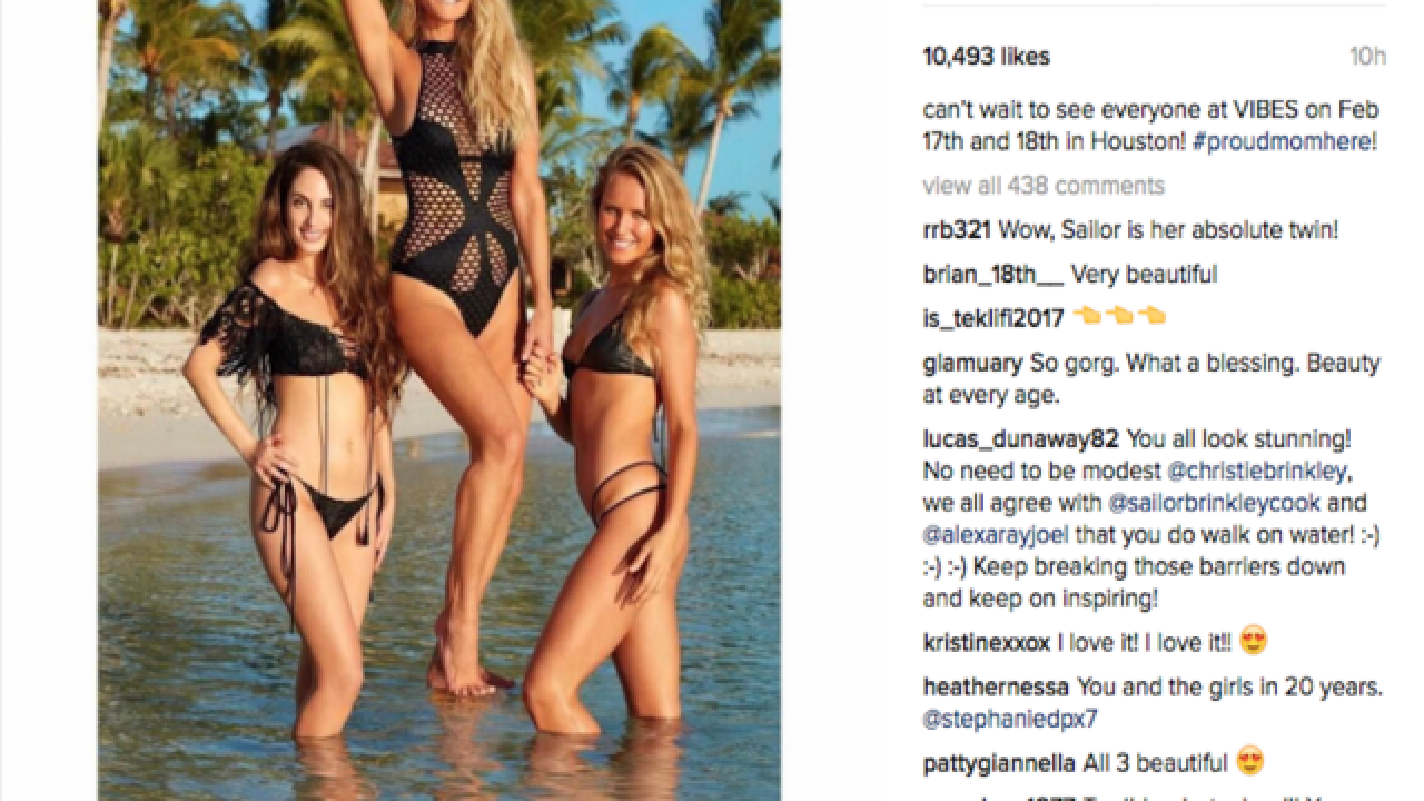 Christie Brinkley returns to SI Swimsuit Issue at age 63