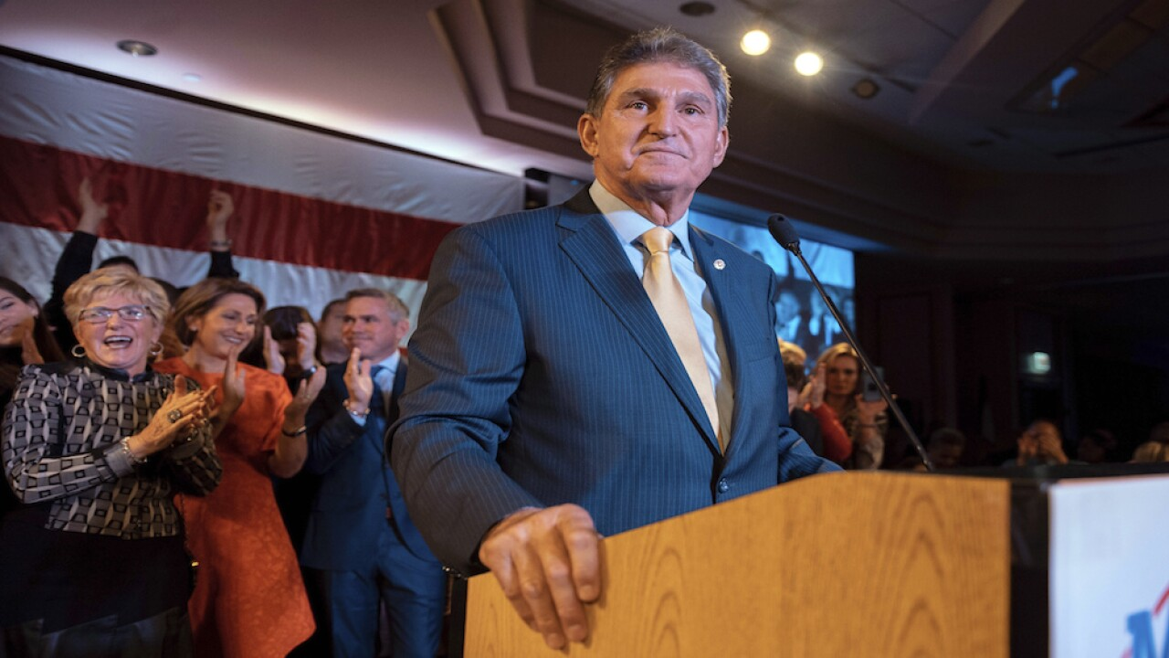 West Virginia Sen. Joe Manchin to endorse Joe Biden for president