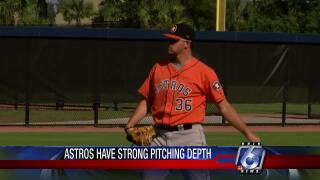 Talented young Astros pitchers poised to challenge for big-league roster