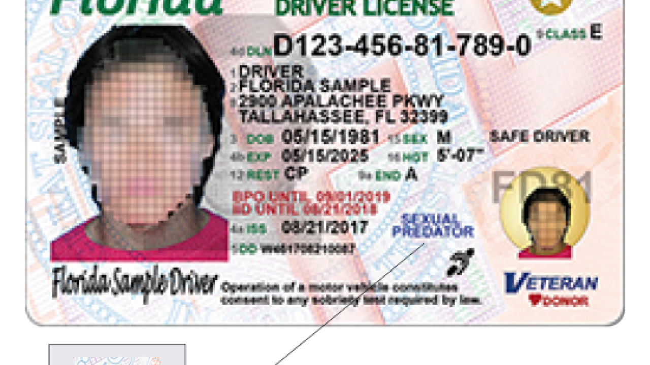 Florida driver licenses to get new design 5