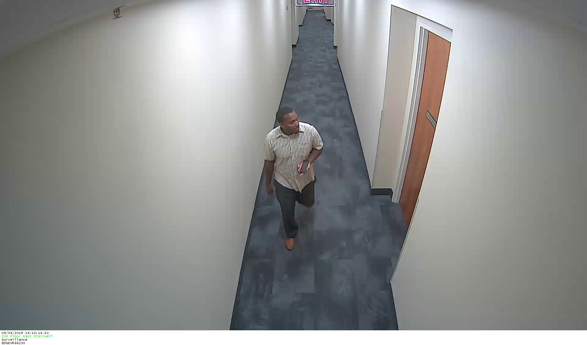 Photos: Police searching for suspect after credit cards stolen from woman's Newport News office