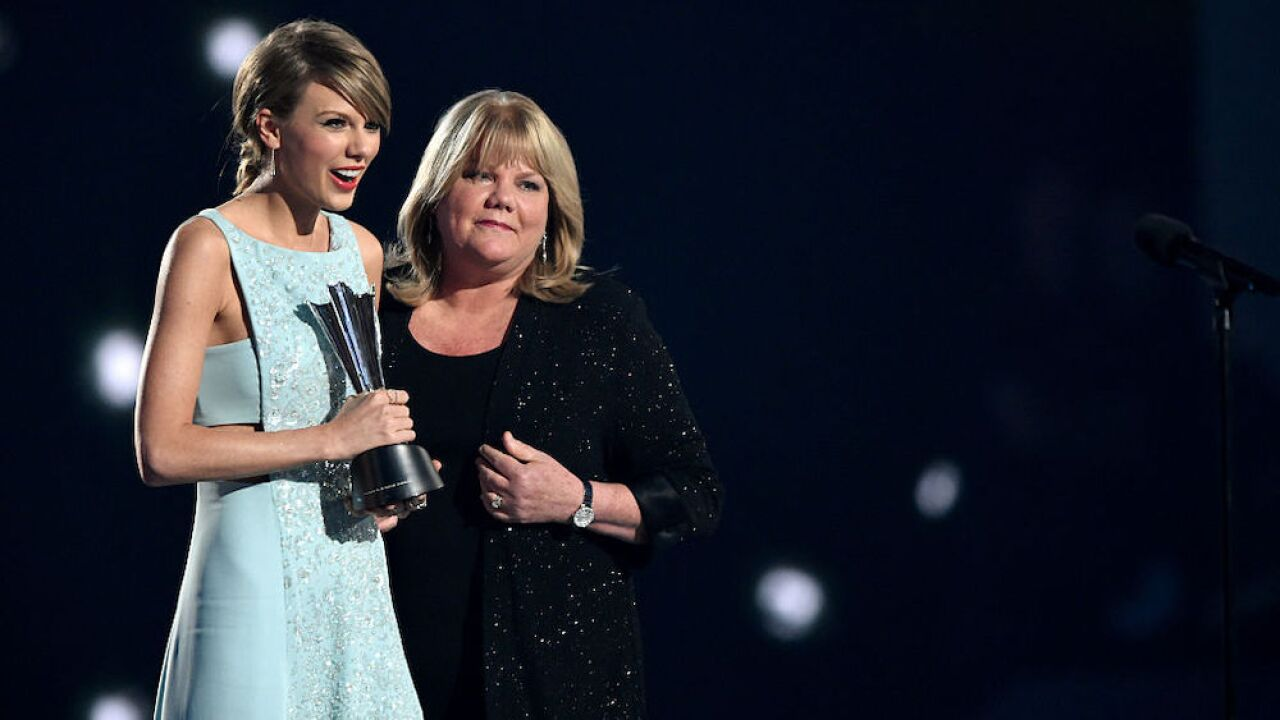 Taylor Swift reveals that her mother is battling a brain tumor