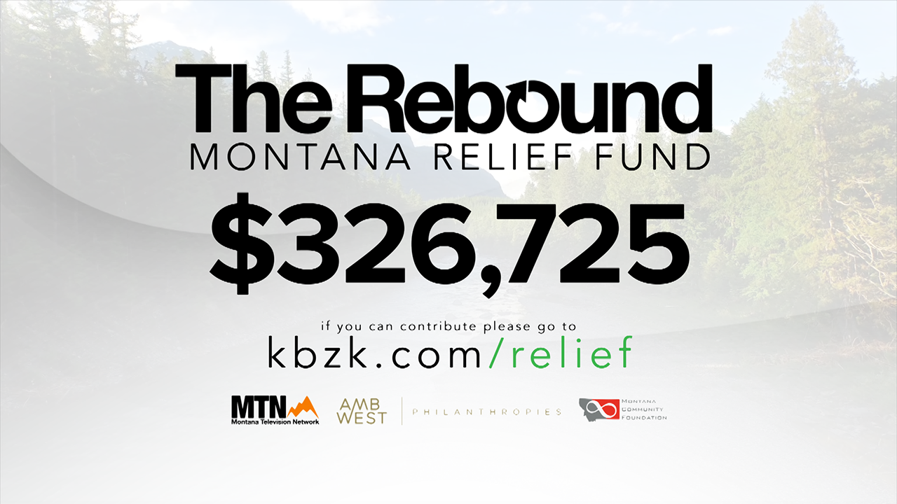 """The Rebound: Montana"" Relief Fund raises more than $326,000 for Montanans impacted by COVID-19"