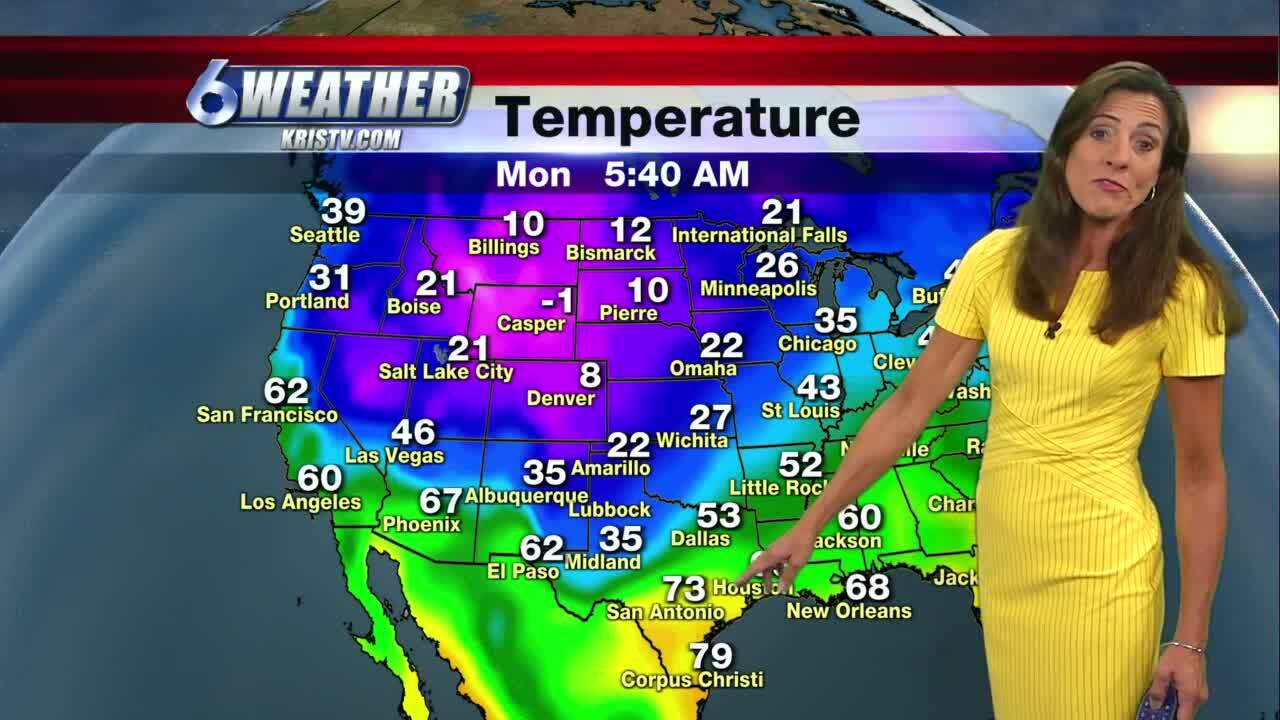 Cooler weather finally heading our way