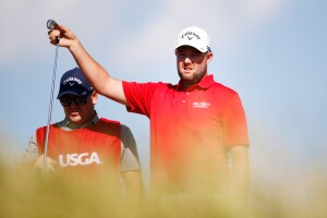 Fowler leads U.S. Open, Virginia Beach's Marc Leishman three strokesback