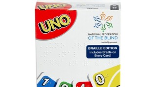 UNO for the blind
