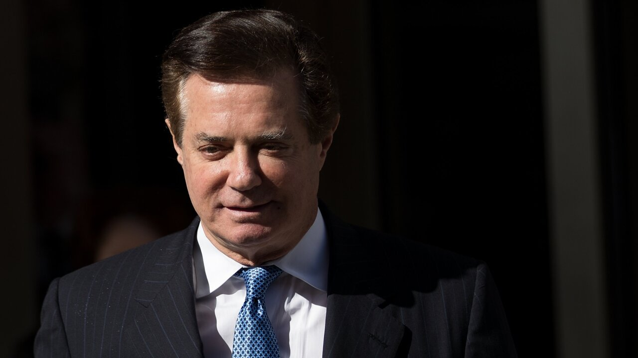 Paul Manafort admitted to hospital