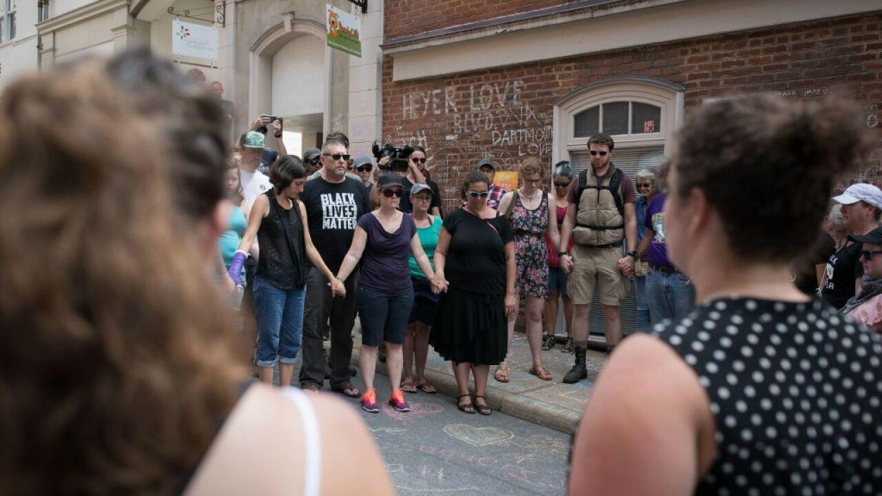 Vigils, memorials mark anniversary of deadly Charlottesvillerally