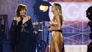 See Kelsea Ballerini perform 'Legends' with living legend Reba McEntire at CMA Awards