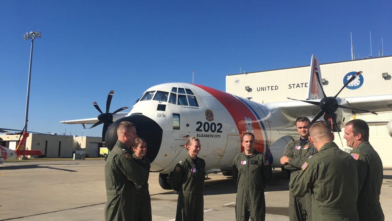 Elizabeth City's Coast Guard first responder aircrews share stories on hurricaneseason