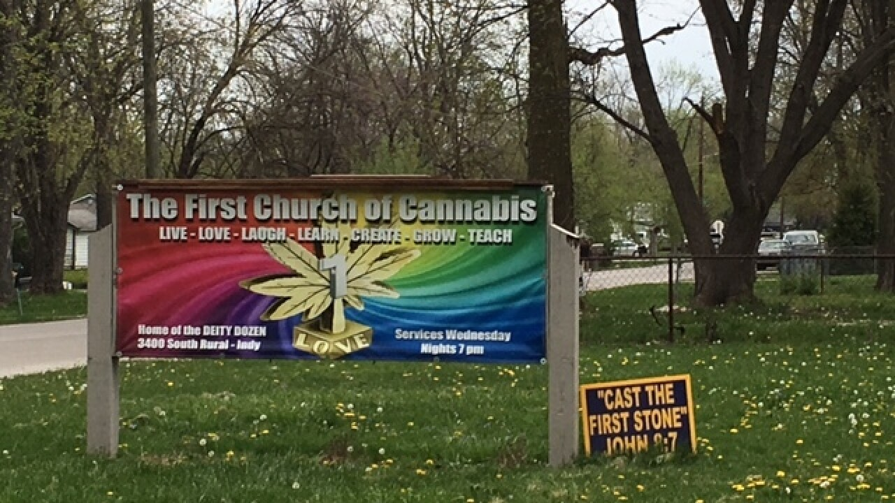PHOTOS: First Church of Cannabis 4/20 service