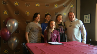McKinlee Mihelish commits to UM Track and Field