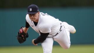 Tarik Skubal Twins Tigers Baseball