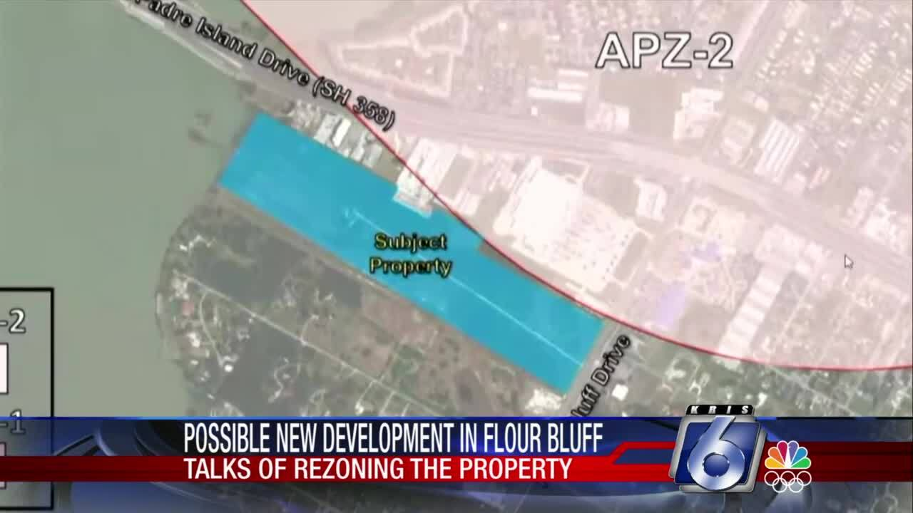 Navy opposes zoning change in Flour Bluff