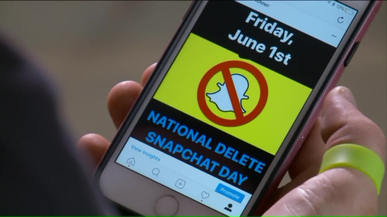 Utah man sparks campaign for 'National Delete Snapchat Day' in response to 'Cosmo After Dark'