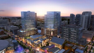 Giant Food Hall Planned For Downtown Nashville At Fifth & Broadway