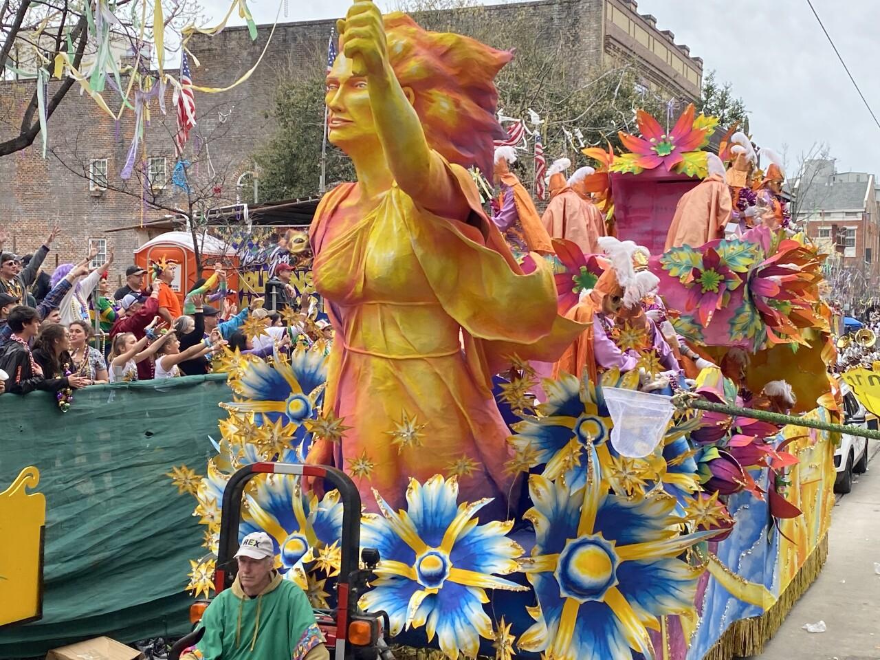 Zulu parade New Orleans (Scott Brazda)