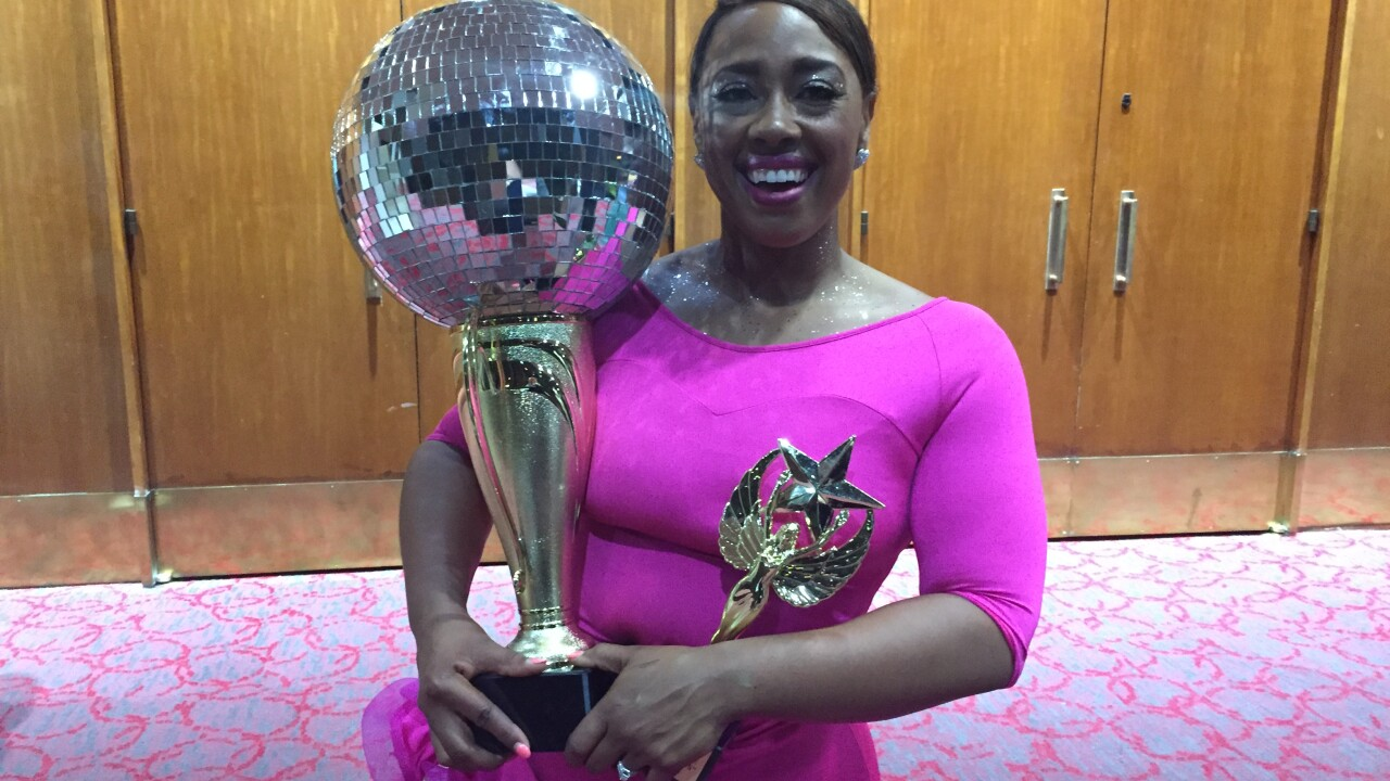 News 3's Jessica Larche wins 'Dancing for Paws' event