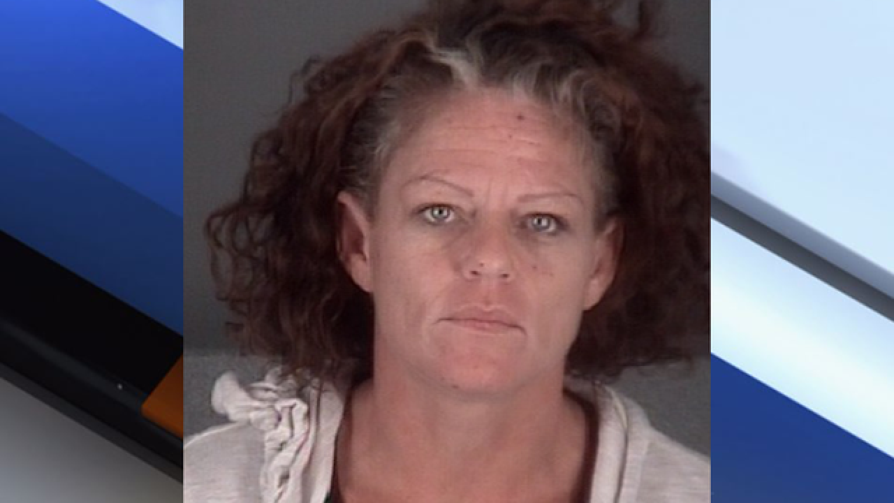 Pasco County woman arrested for allegedly beating 4-year-old with clothes hanger