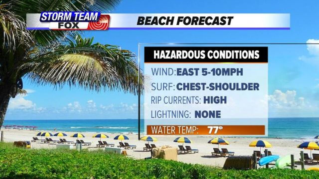 Wednesday's Weather Word: Rip Current