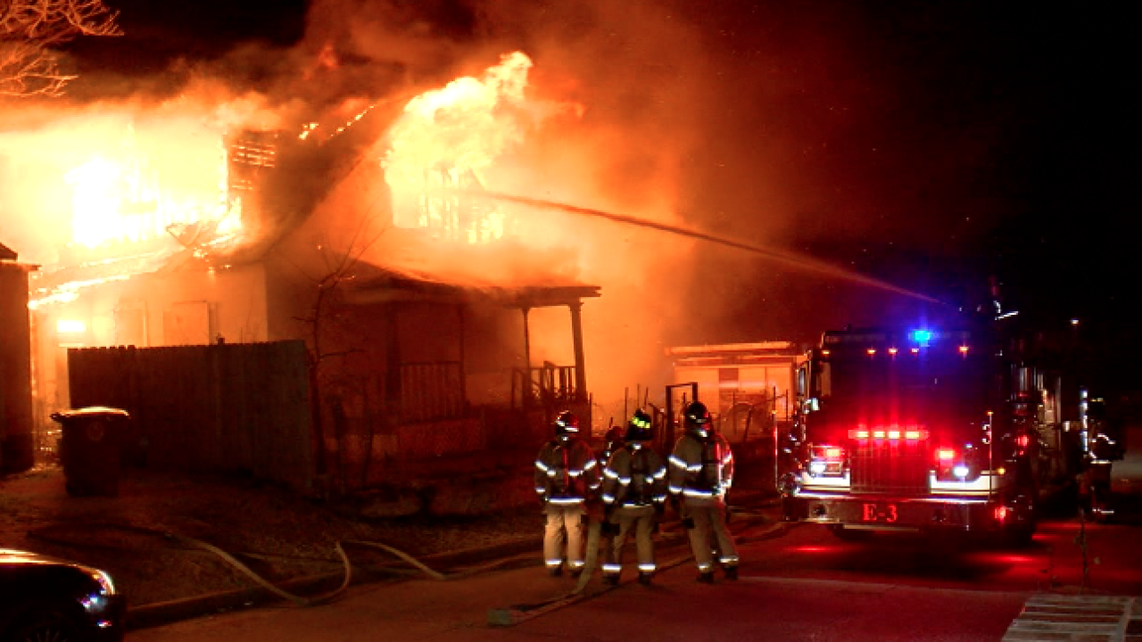 House fire in north Tulsa