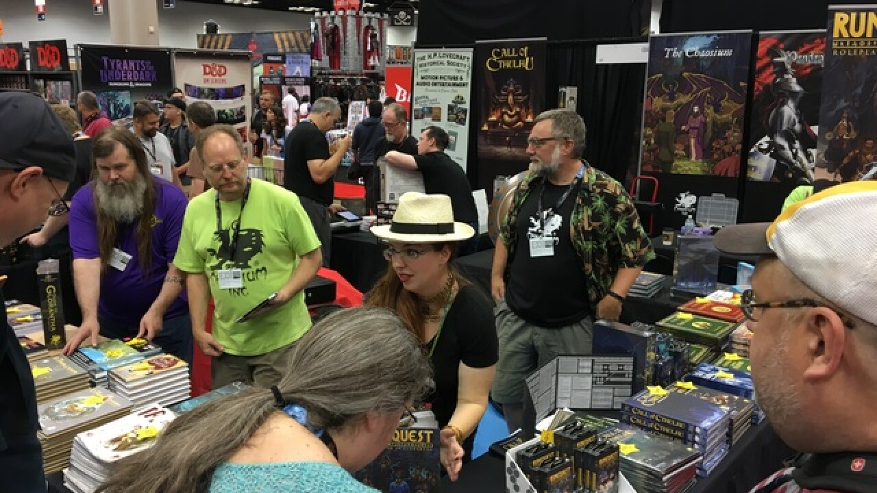 More than 60,000 people came to Indy for Gen Con