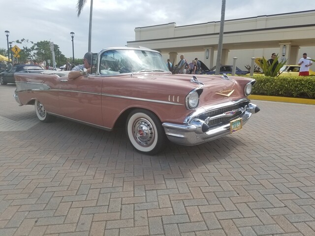 Classic cars from Cars & Coffee Palm Beach event on May 6, 2018