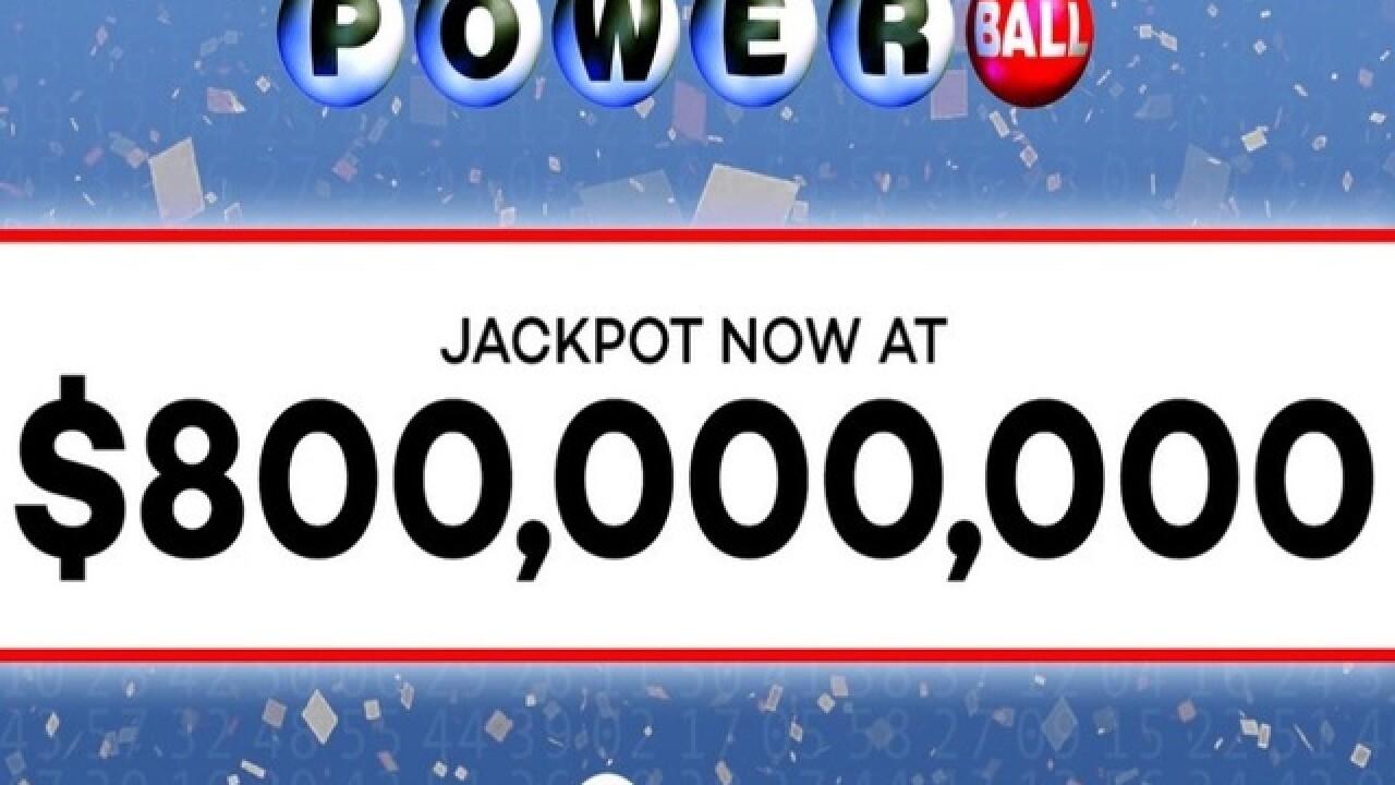 Powerball Jackpot Surges To 800 Million