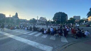 Plaza protest Thursday night.jpeg