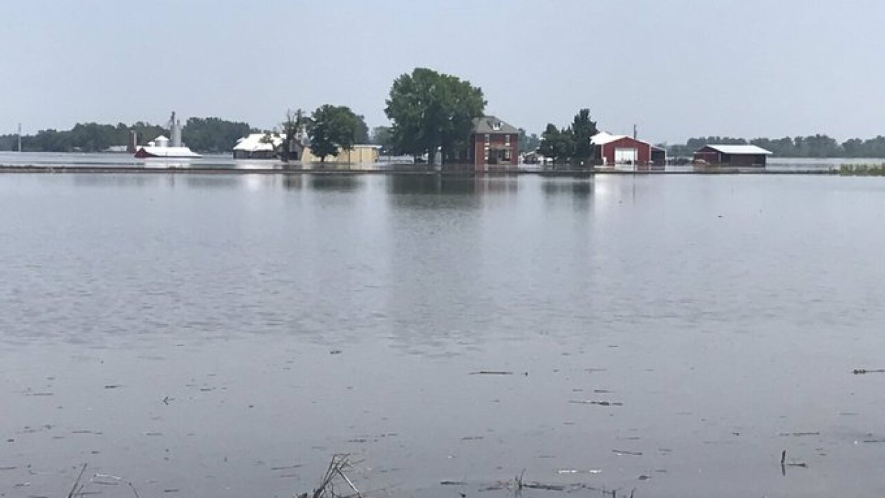 Missouri city remains swallowed by floodwater after levees break