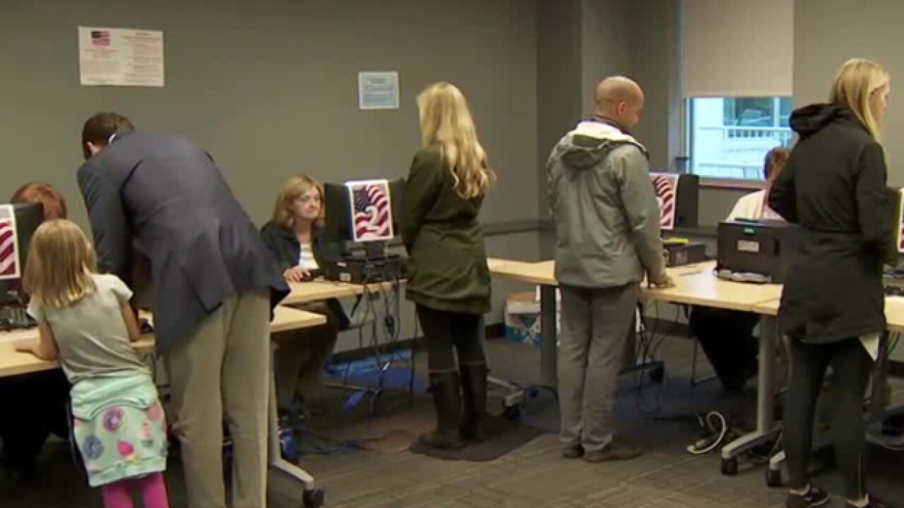 Record Number Of Voters Show Up On Last Day Of Early Voting