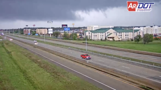 Tornado tears through Arkansas college town, with 6 hurt