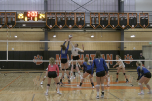 Manhattan Tigers volleyball advances in 5B District playoffs with win over Big Timber