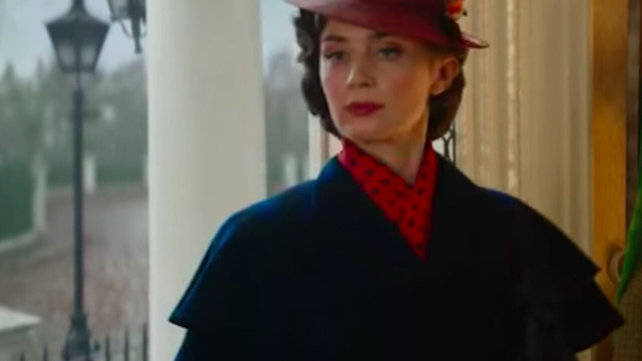 Disney debuts trailer for 'Mary Poppins Returns' musical film
