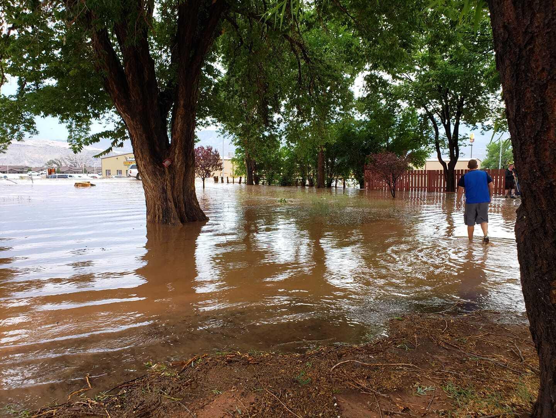 Richfield flooding