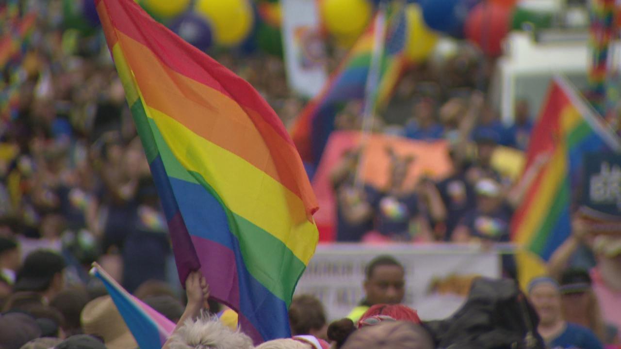 Metro pride parade
