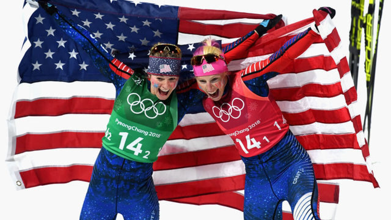 American women win cross-country skiing gold
