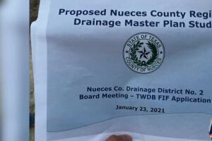 Commissioners Court meets with residents about drainage issues