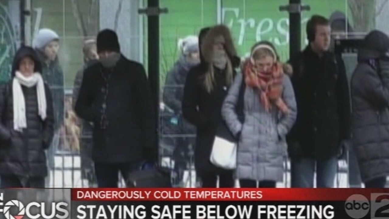 Tips for staying safe in freezing temperatures
