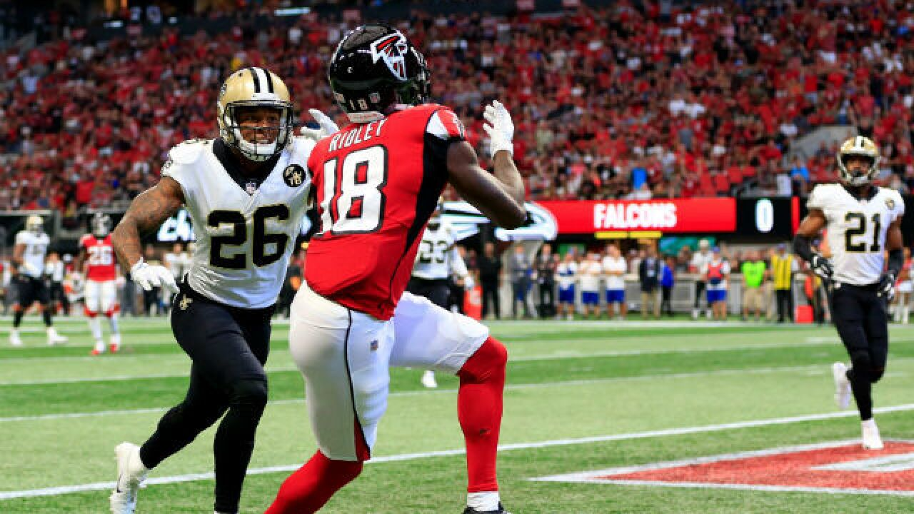 Calvin Ridley's breakout game gives Falcons another big-play threat
