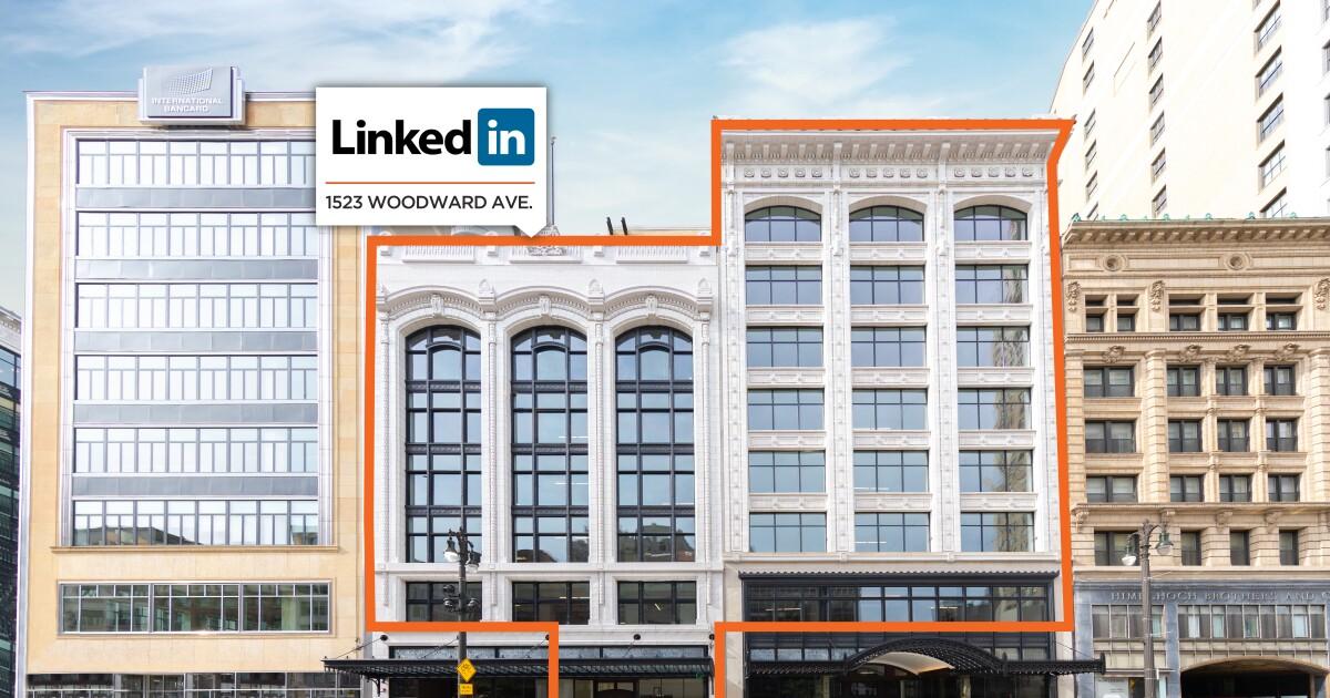 LinkedIn's new Detroit office opens on Woodward Avenue