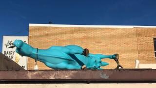 Sherman's-Dairy-Bar-vandalized-Blue-Moo-cow-statue.jpg