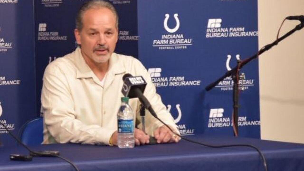 Will Colts keep Pagano, Grigson?