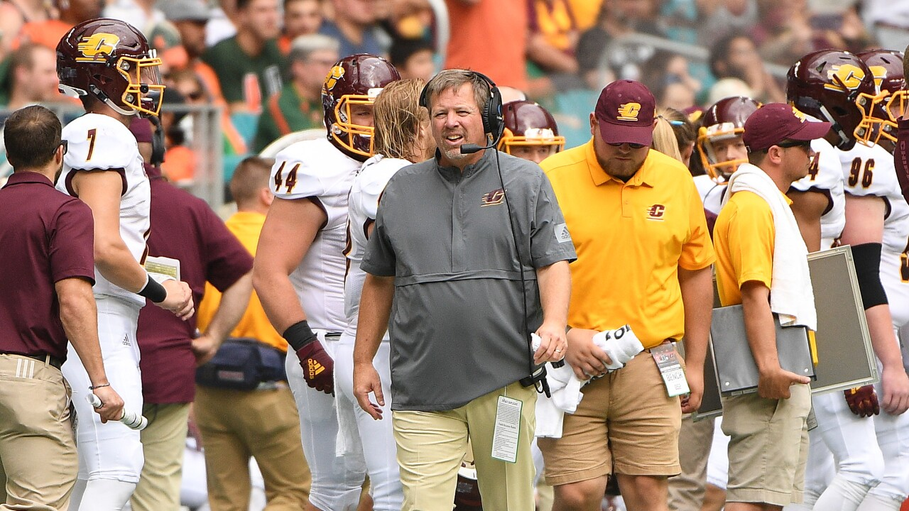 Jim_McElwain_Central Michigan v Miami