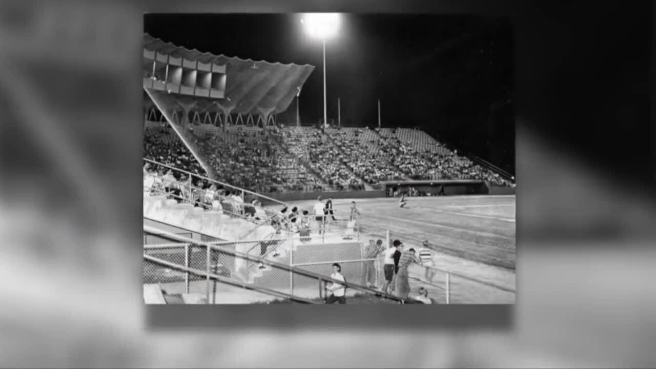 West Palm Beach Municipal Stadium circa 1960s