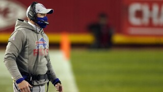 "McDermott ready to turn the page as Bills ""start over"""
