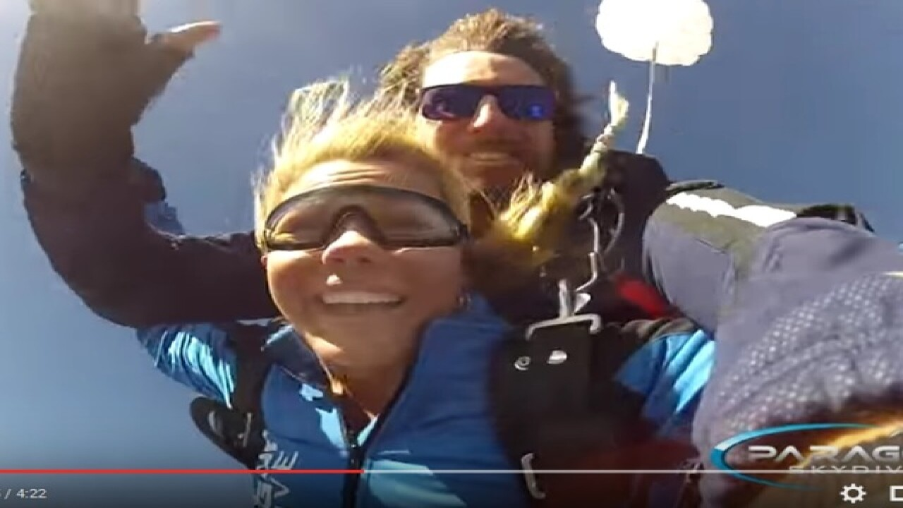 Pajas Youtube whoa! you can now skydive over the grand canyon