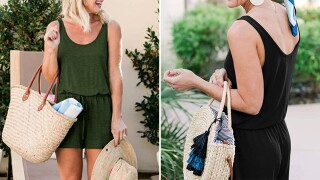 This romper is only $20 on Amazon, and you'll wear it all summer