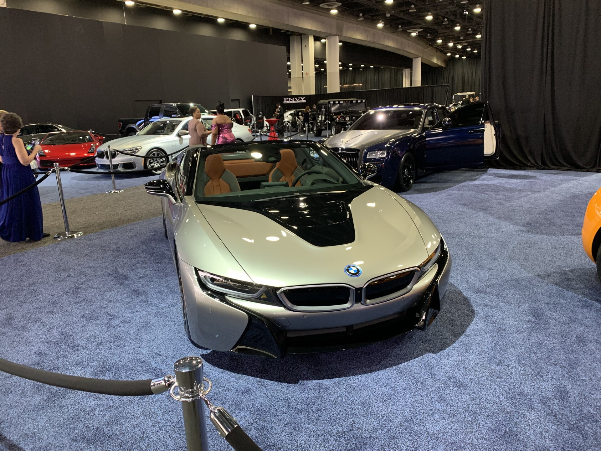Auto show luxury cars