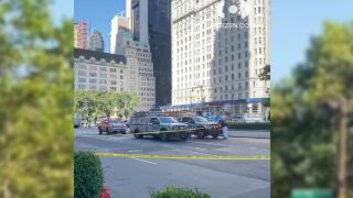 Cyclist fatally struck in Midtown Manhattan